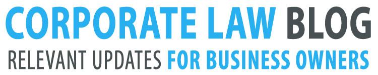 Corporate Law Blog Logo